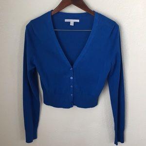 V-neck short cardigan